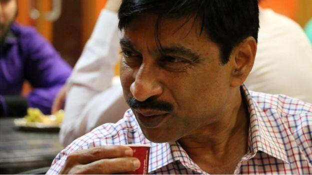 কালিকটে 'কেকে', বিশ্রামের মুহুর্তে