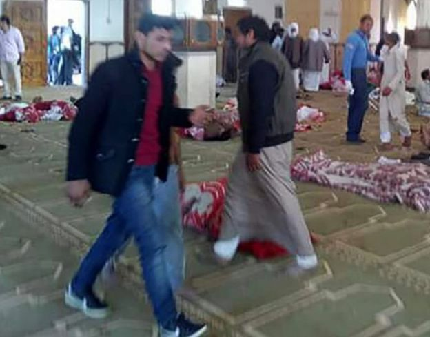 Masjid Di Mesir Diserang Saat Salat Jumat 235 Meninggal