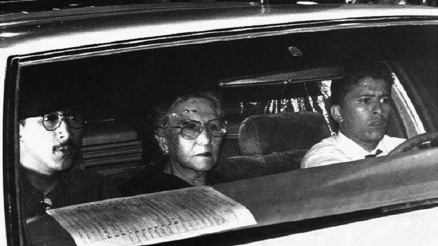Hermilda Gaviria, madre de Pablo Escobar.