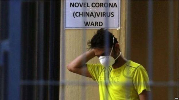 बेंगलुरु में कोरोना वायरस की निगरानी के लिए बना एक स्वास्थ्य केंद्र