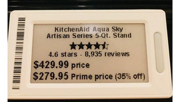 Digital price tags