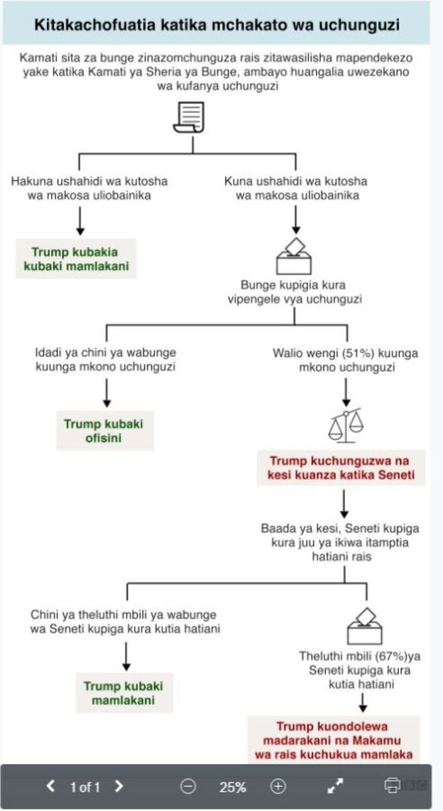 Uchunguzi dhidi ya Trump