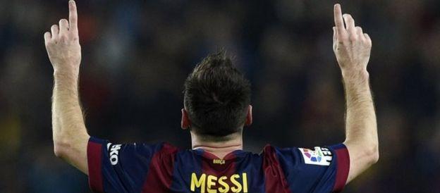 Lionel Messi. File photo