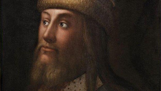 А вот и папа: правитель Милана Галеаццо II Висконти