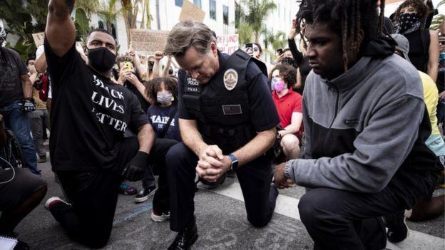 مظاهرات في أمريكا