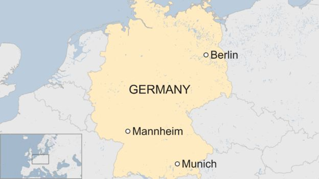 Stolen Humboldt Penguin Found Dead In Germany BBC News - Germany map mannheim