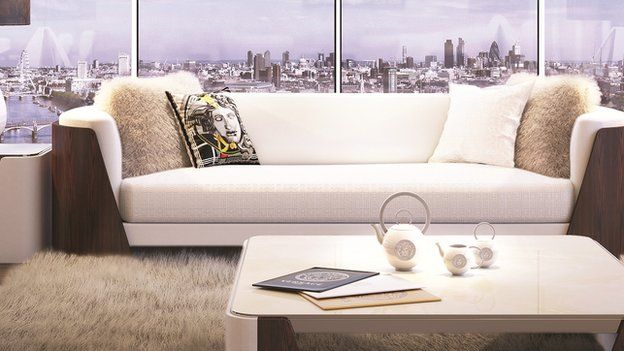Versace Sofa In New Tower