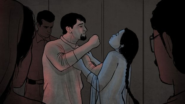 گھریلو تشدد