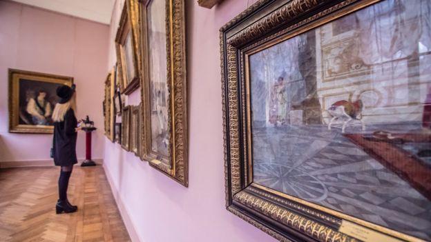 Картини в Одеському художньому музеї