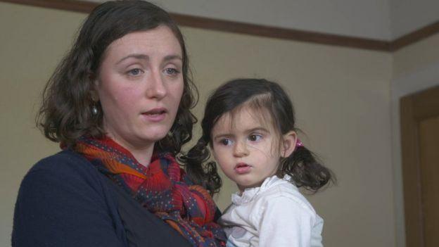 安雅和媽媽凱瑟琳