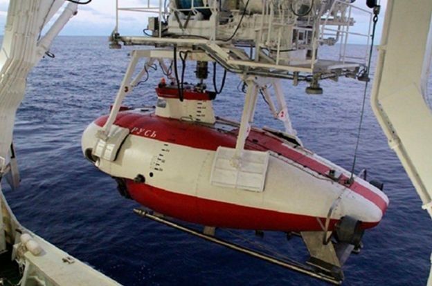 زیردریاپیمای روس