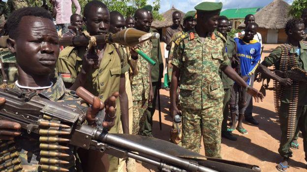 South Sudan S Men Of Dishonour Bbc News
