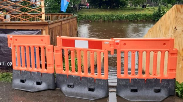 Appleby Horse Fair Heavy Rain Closes River Eden Bbc News