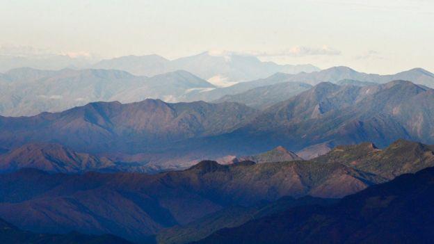 Montañas de Popayán