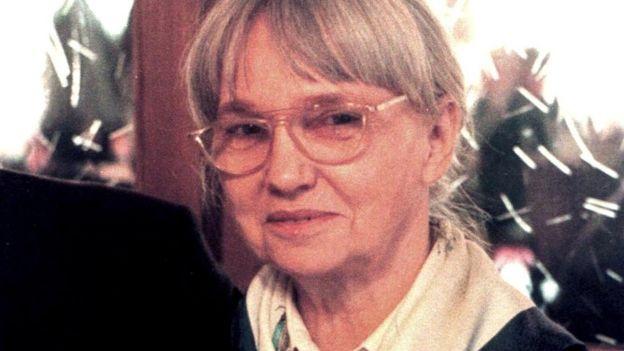 Gudrun Burwitz fotografiada en 1998.