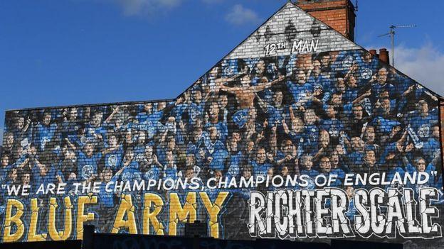 Mural de Leicester City