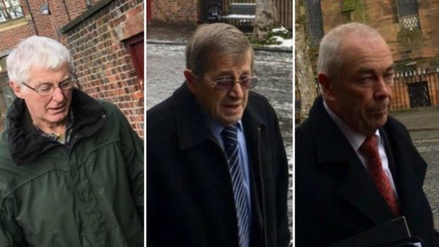Trevor Taylor, David Hadwin and James Farish