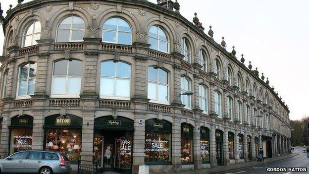 Victorian shops in Harrogate