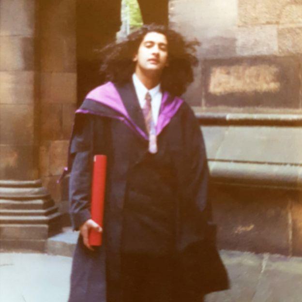 ألياس كرماني في حزيران / يونيو 1990