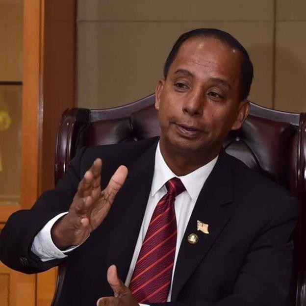 மலேசிய மனிதவளத் துறை அமைச்சர் குலசேகரன்