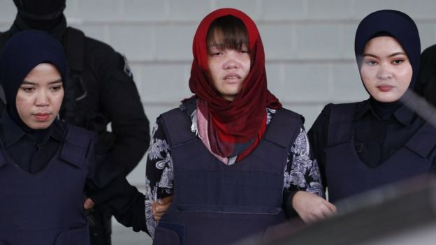 Ms Huong at the Shah Alam court earlier in March