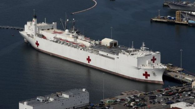 السفينة USNS Mercy