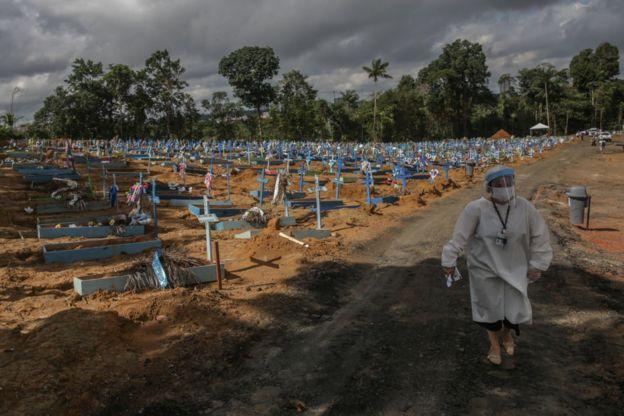 Кладбище в Бразилии