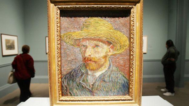 Uno de los retratos de Van Gogh