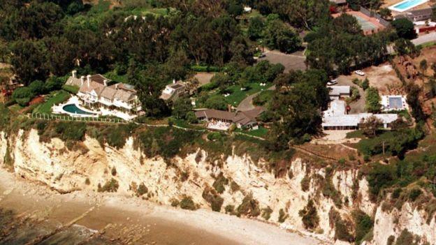 Barbra Streisand's Malibu mansion