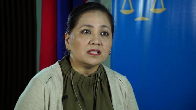 Karen Gomez of Philippine Commission on Human Rights (CHR)