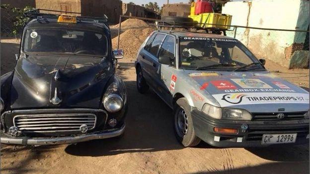 خطرت لجوليا فكرة الرحلة بعد استماعها لبرنامج إذاعي عن شغف رئيس جنوب أفريقيا جاكوب زوما بالسيارات الفارهة