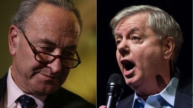 Charles Schumer iyo Lindsey Graham oo ka tirsan Senate-ka ayaa doonaya in la soo wareejiyo wixii cajalado ah ee la hayo