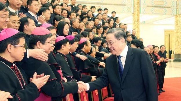 中國同梵蒂岡在1951年斷絶了外交關係