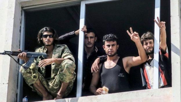Vikosi maalum huko Syria vimesema kuwa kuna utulivu maeneo mengi ya nchi