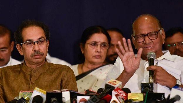 மகராஷ்டிரா அரசியல்: சரத் பவாரை சந்தித்த பா.ஜ.க நாடாளுமன்ற உறுப்பினர்