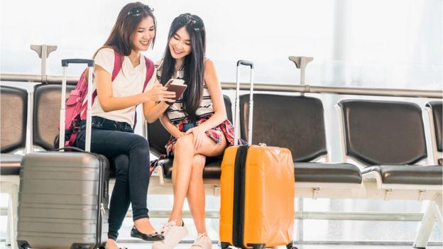 Turistas japonesas