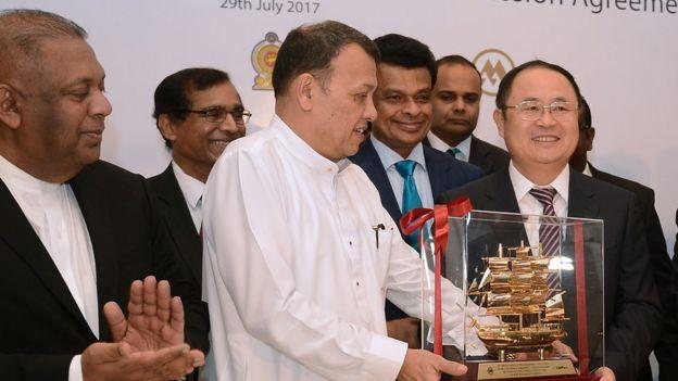 چین سری لنکا