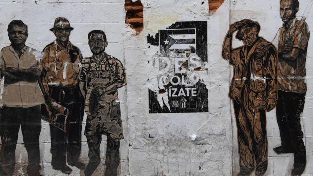 Afiche en Puerto Rico