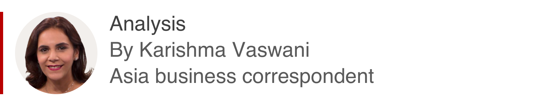 Analysis box by Karishma Vaswani, Asia business correspondent
