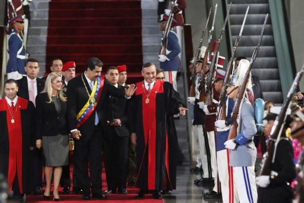 Maduro y Moreno