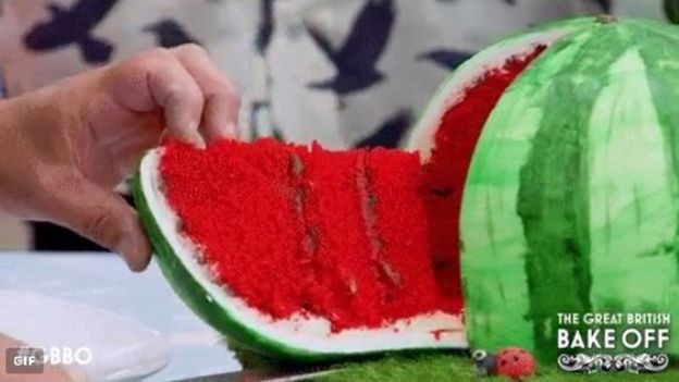 Flo's Watermelon cake