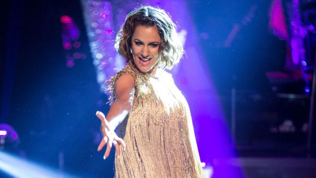 Flack won Strictly Come Dancing in 2014