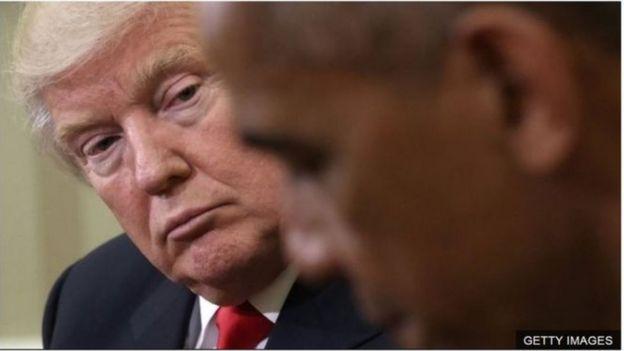 Trump và Obama