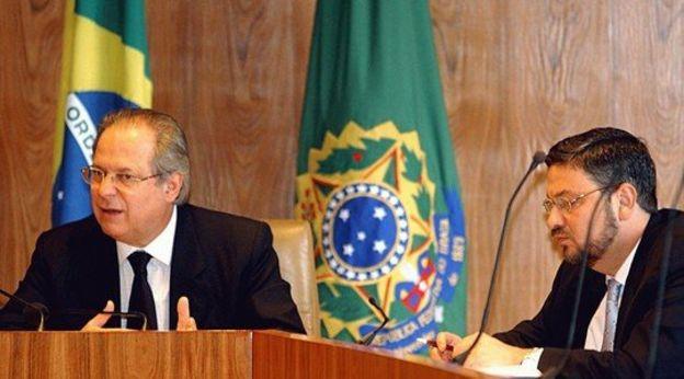 José Dirceu e Antônio Palocci