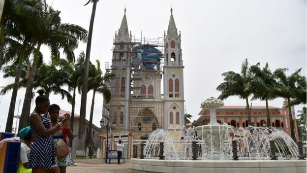 Equatorial guinea country profile bbc news cathedral of santa isabel sciox Choice Image