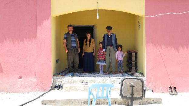 Bilmat köyü sakinleri