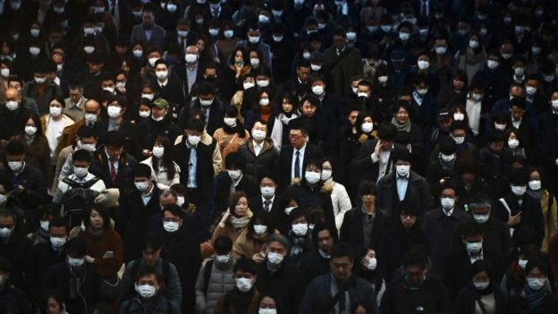 中国拥挤的街头
