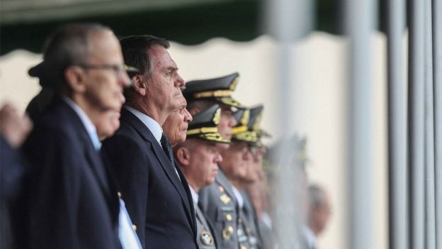 Bolsonaro em evento oficial