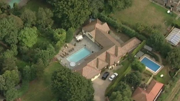 Barrymore's Essex home