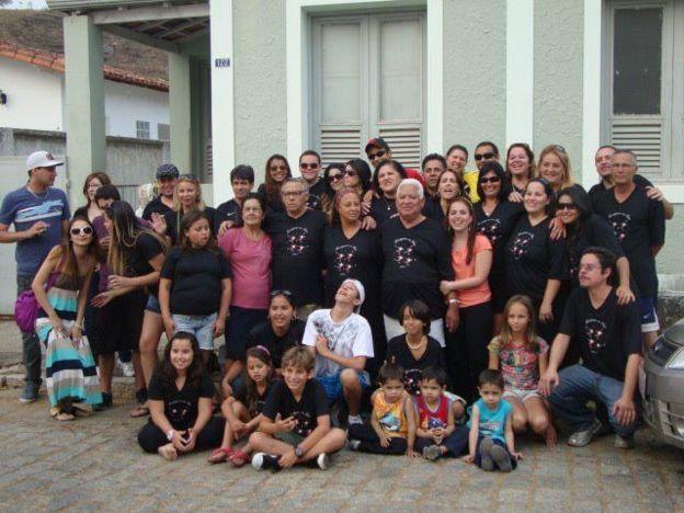 Vania Nascimento's family